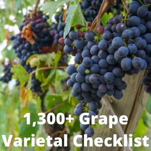 The Grape Pursuit's Varietal Checklist