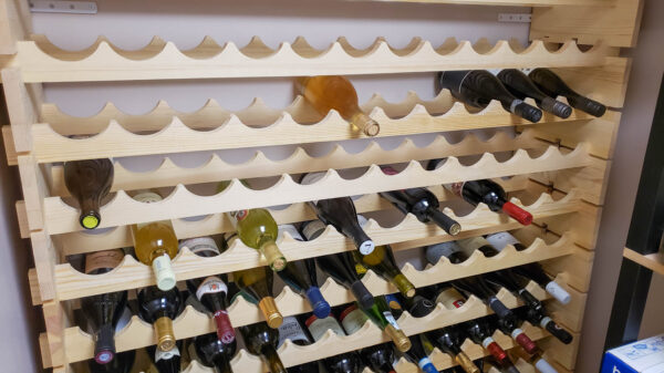 Build a Wine Cellar Stocked With Wine