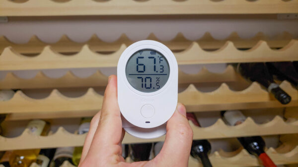 Wine Cellar Conditions via Wifi Enabled Sensor