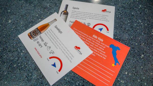 Tasting Notes from Mysa Wine Club