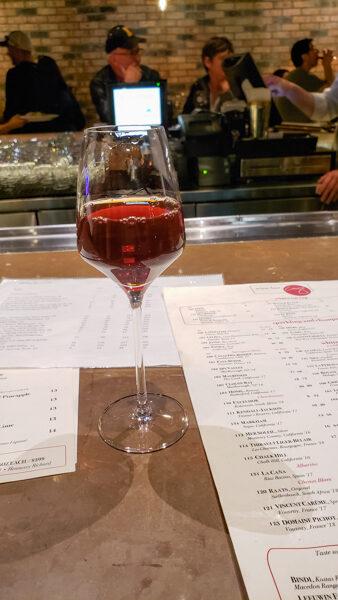 Dessert Sherry at Wine Bar George