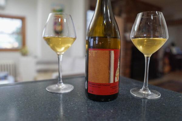Bloomer Creek Chardonnay and Gruner Veltliner Blend