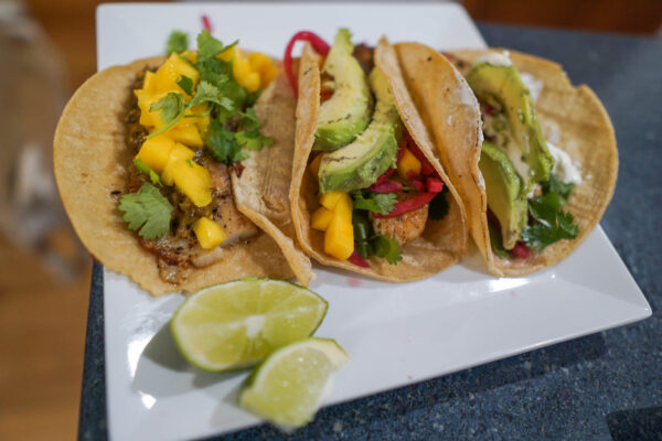 Fiano Food Pairing - Fish Tacos