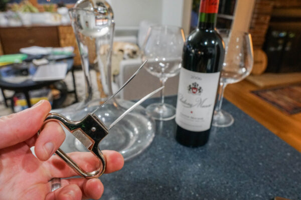 Use an Ah So to Open Old Wine