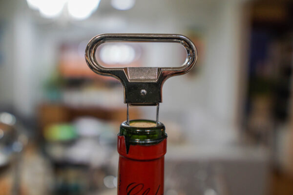 Two Prong Wine Opener in Wine