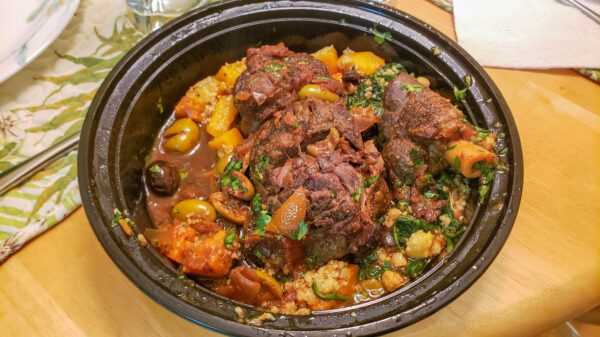 Lamb Tagine Food Pairing with Chateau Musar