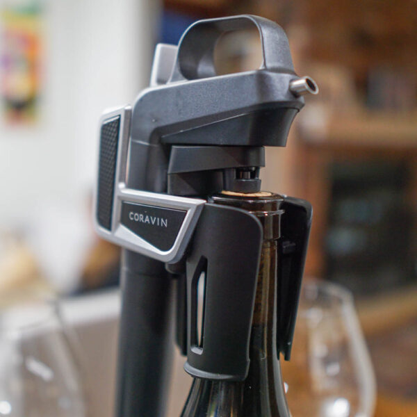 What is a Coravin? It is a gas blanket wine preservation system