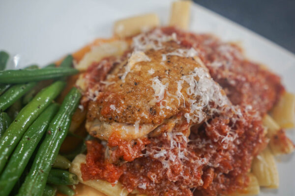 Fred #2 Food Pairing - Chicken Cacciatore