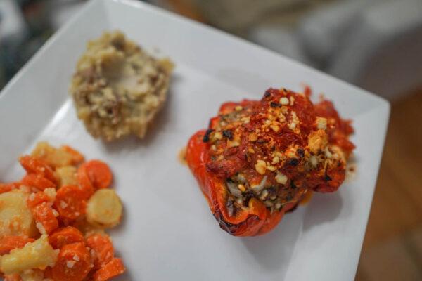 Beef Stuffed Peppers