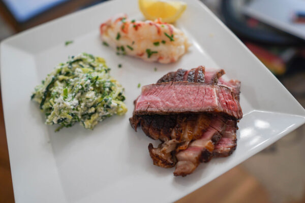 Sous Vide Steak for Chateau Musar Pairing