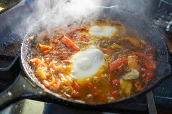 Semillon Food Pairing - Shakshuka