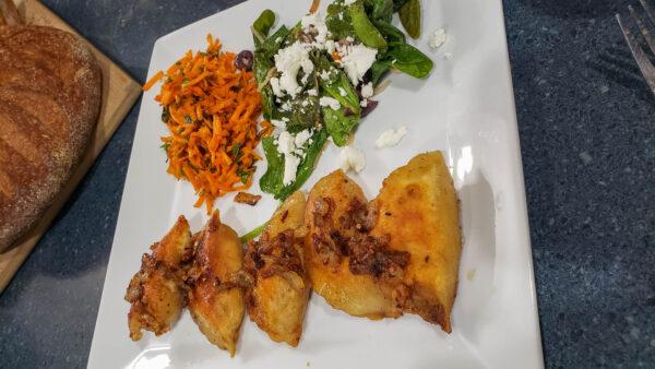 Furmint Food Pairing - Pierogi