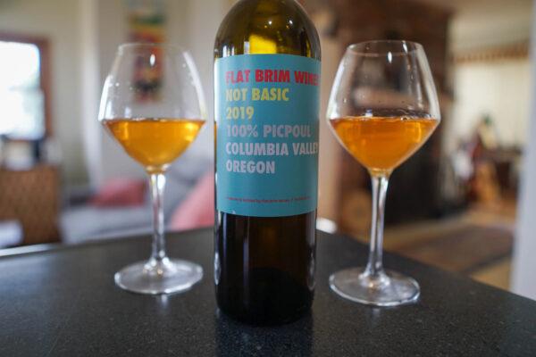 Flat Brim Wines Not Basic Picpoul