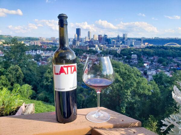 Latta Grenache Upland Vineyard