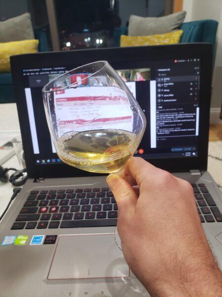 Tasting During WSET Diploma D1 Online